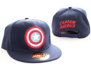 Marvel Captain America Flat Peak Baseball Cap